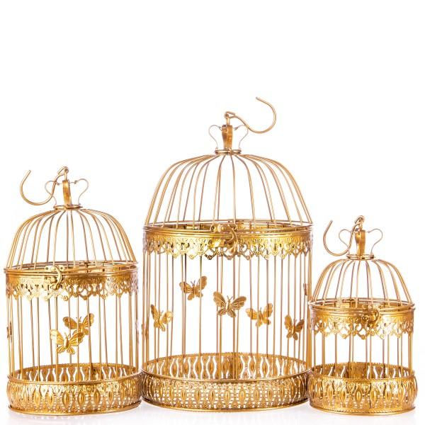 Vogelkäfige Gold Set/3 KF116GO