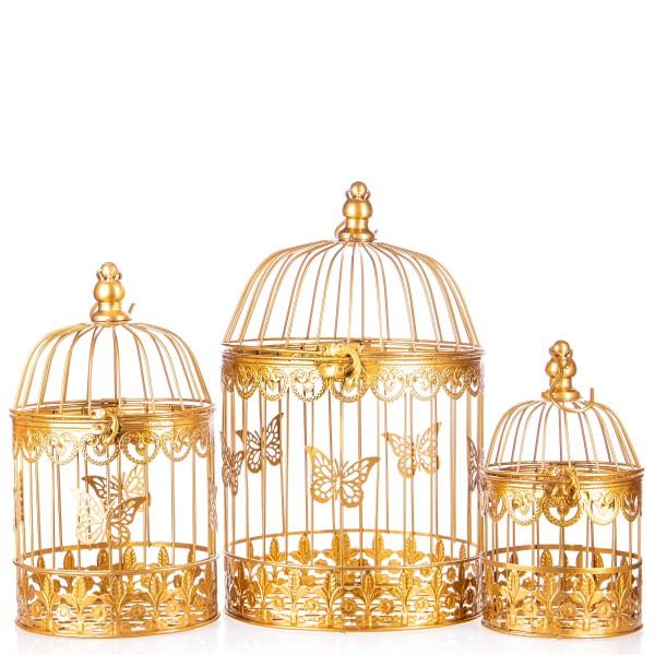 Vogelkäfige Gold Set/3 KF114GO