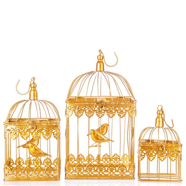 Vogelkäfige Gold Set/3 KF113GO