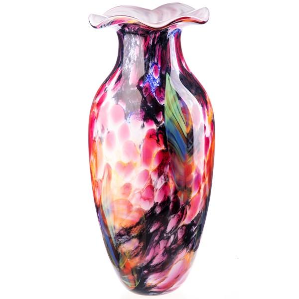 Murano-Stil Glas Vase GL1277