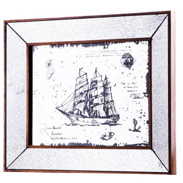 Motiv-Spiegel Segelschiff KMR109