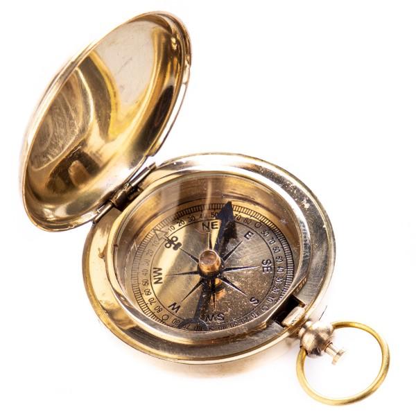 "Messing Kompass ""Captain Smith"" N339"