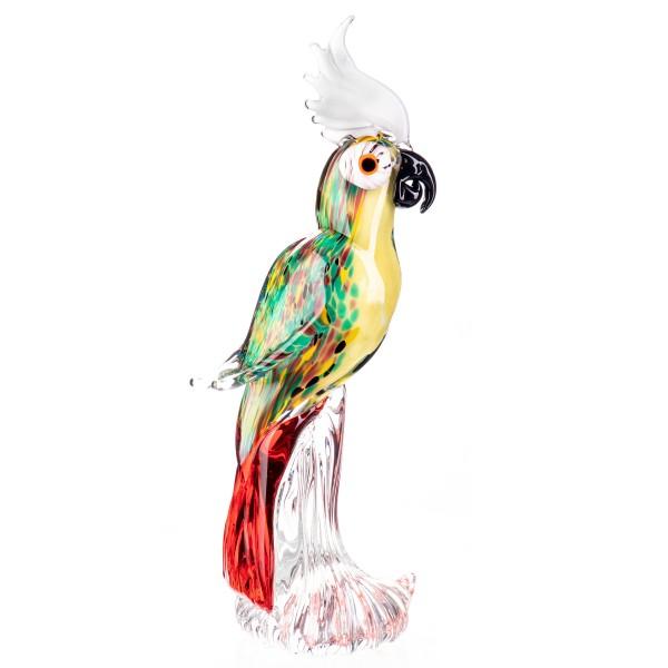 Murano-Stil Glas Papagei GL1261