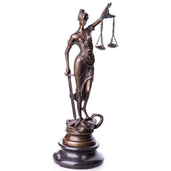 Bronzefigur Justitia BT199