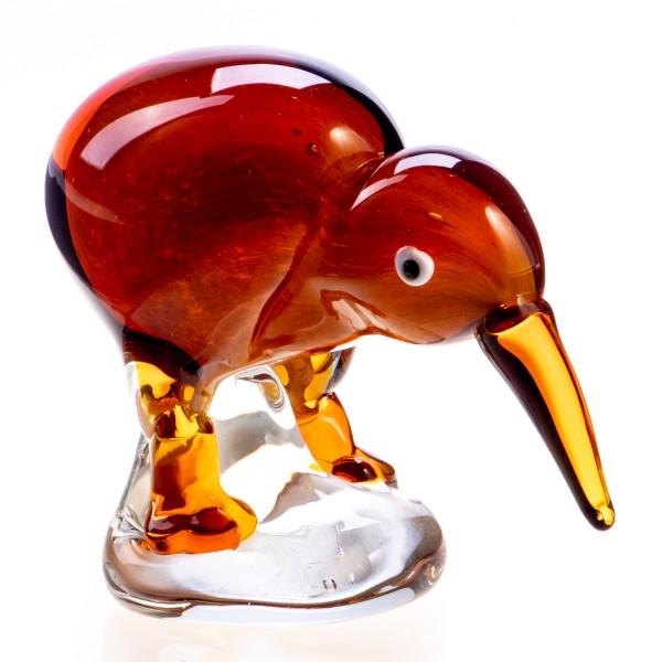 Murano-Stil Glas Vogel Kiwi GL788