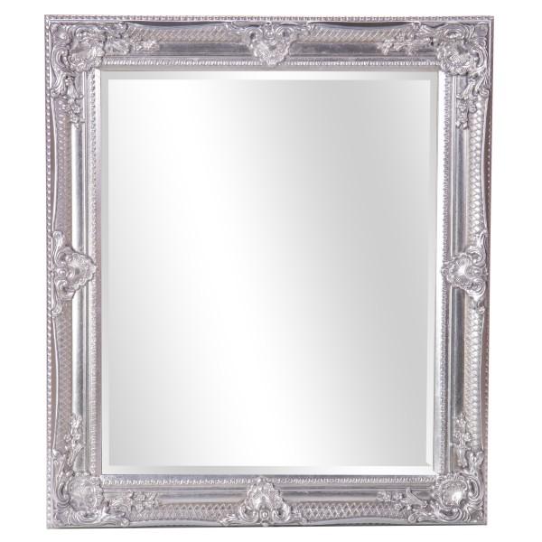 Barockspiegel mit Holzrahmen und Spiegel mit Facettenschliff SP1152