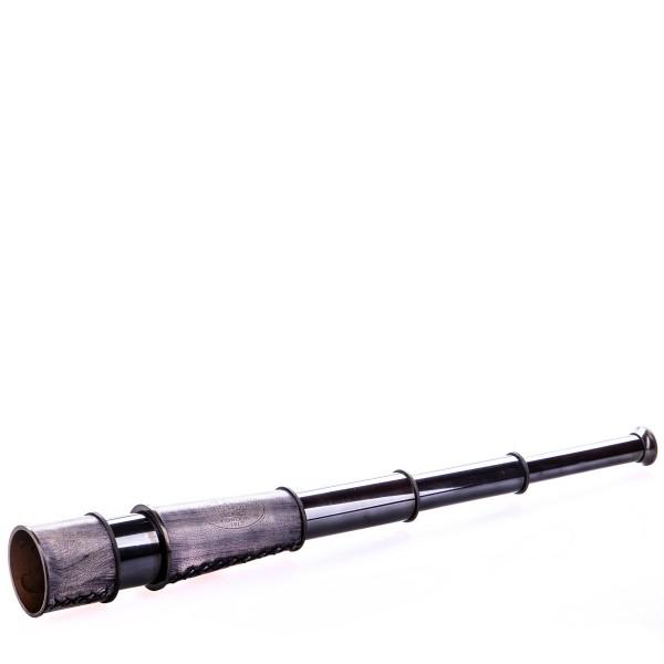 Messing Fernrohr mit Holzbox WA-02