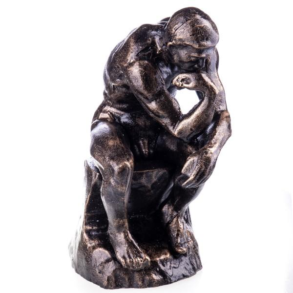 """Gusseisen Figur """"Der Denker"""" nach Rodin GU044"""