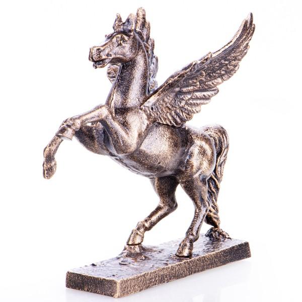 Gusseisen Pferd mit Flügeln Pegasus GU094