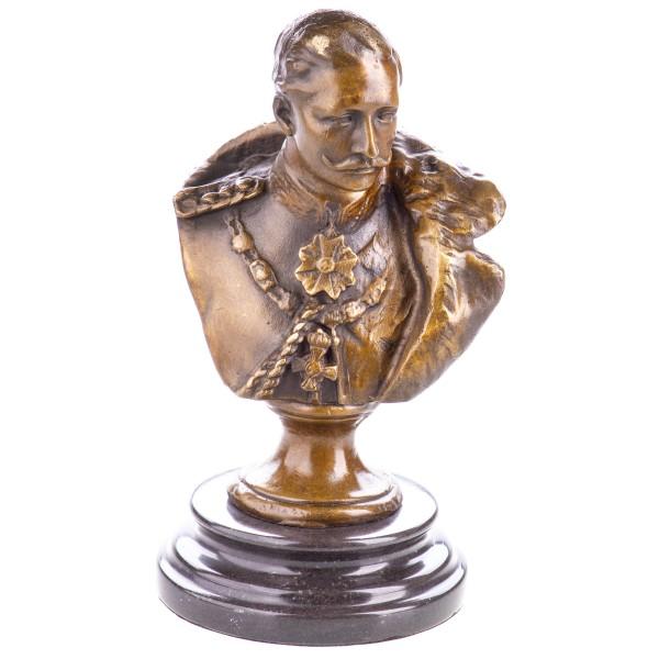 Bronzefigur Büste Kaiser Wilhelm II. YB565