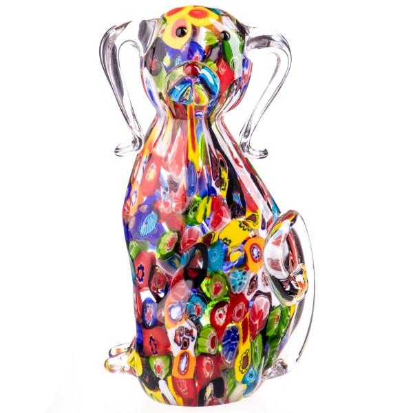 Murano-Stil Glas Hund GL1278