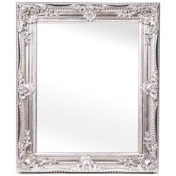 Barockspiegel mit Holzrahmen und Spiegel mit Facettenschliff SP1151