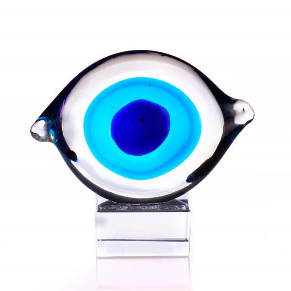 Murano-Stil Glas Skulptur Auge GL375