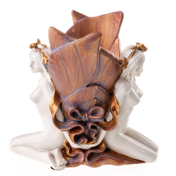 Polyresin Jugendstil Vase PP38