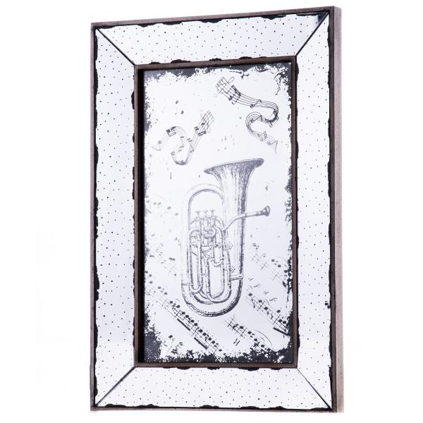 Motiv-Spiegel Trompete KMR103