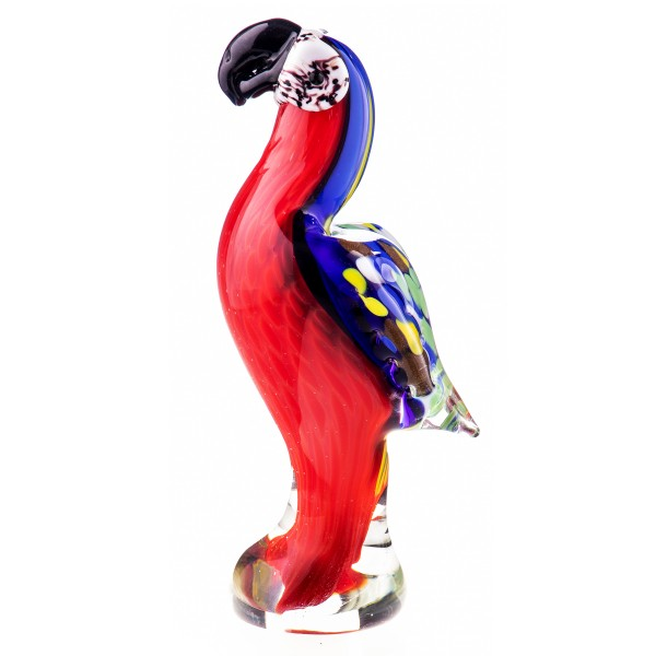 Murano-Stil Glas Papagei GL1220