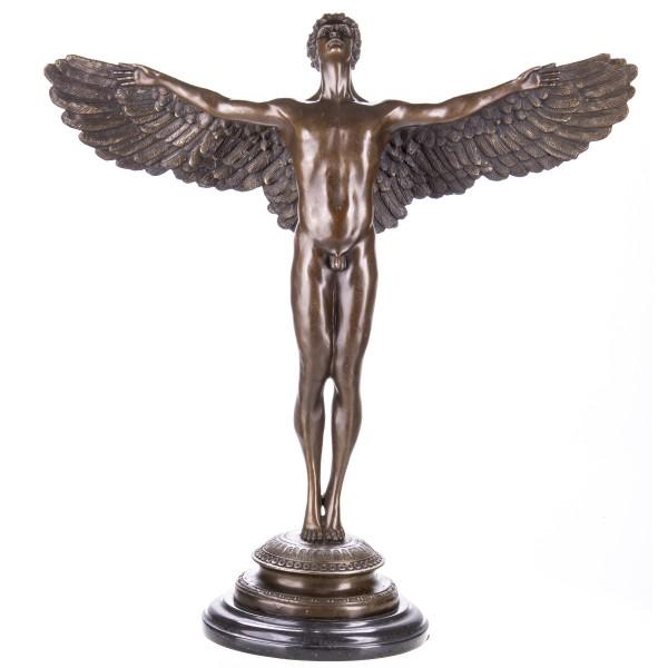 Mythologische Bronzefigur Ikarus YB589