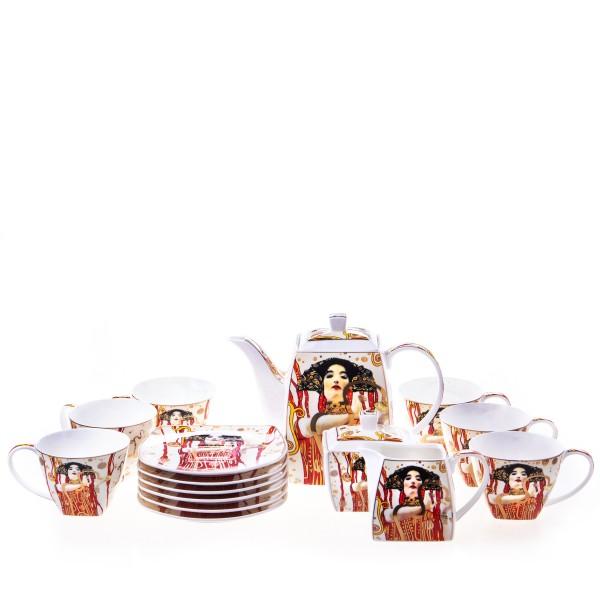 15-Teiliges Porzellan Service Klimt P215