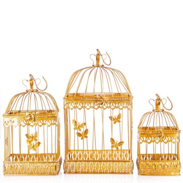 Vogelkäfige Gold Set/3 KF118GO