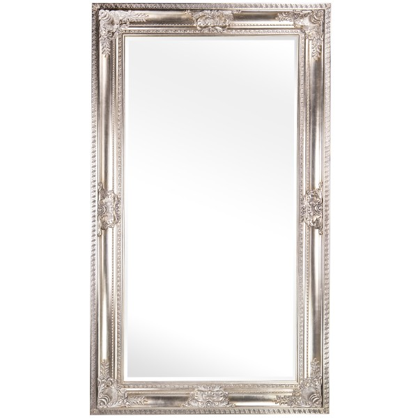 Barockspiegel mit Holzrahmen und Spiegel mit Facettenschliff SP1221