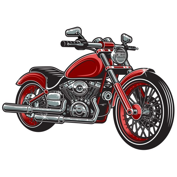 Geprägtes Blechschild Motorrad MP108