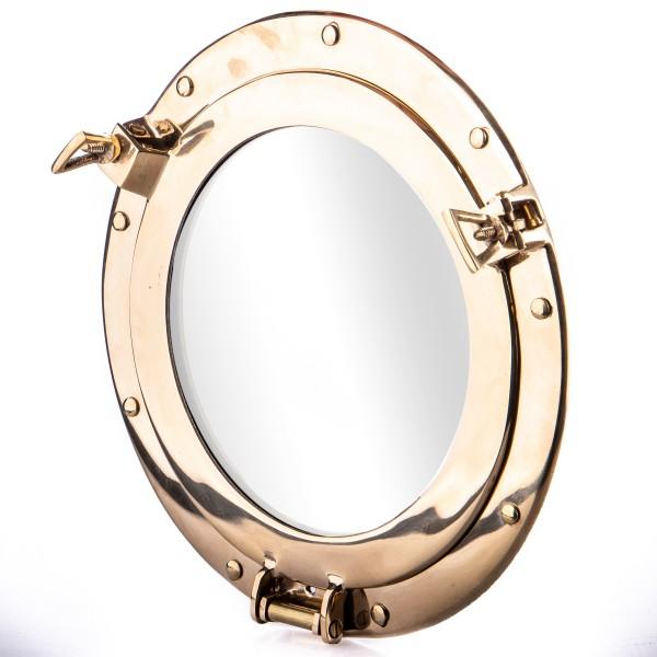 Messing Bullauge Spiegel N428