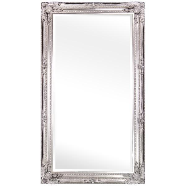 Barockspiegel mit Holzrahmen und Spiegel mit Facettenschliff SP1329