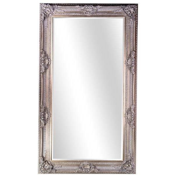 Barockspiegel mit Holzrahmen und Spiegel mit Facettenschliff SP1310