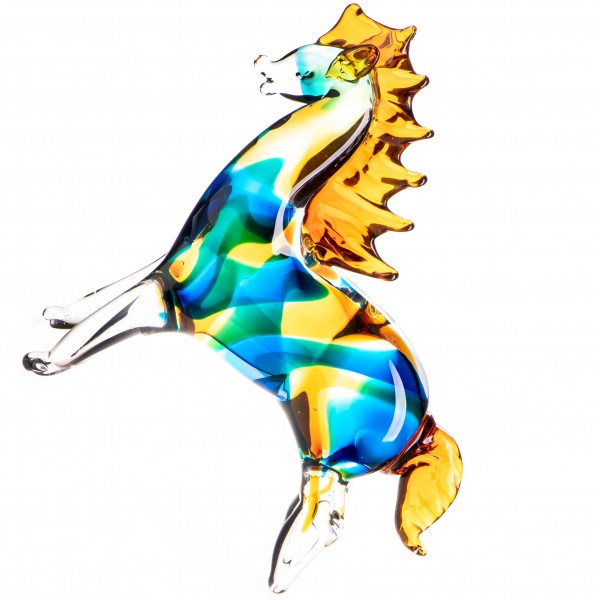 Murano-Stil Glas Pferd GL1271
