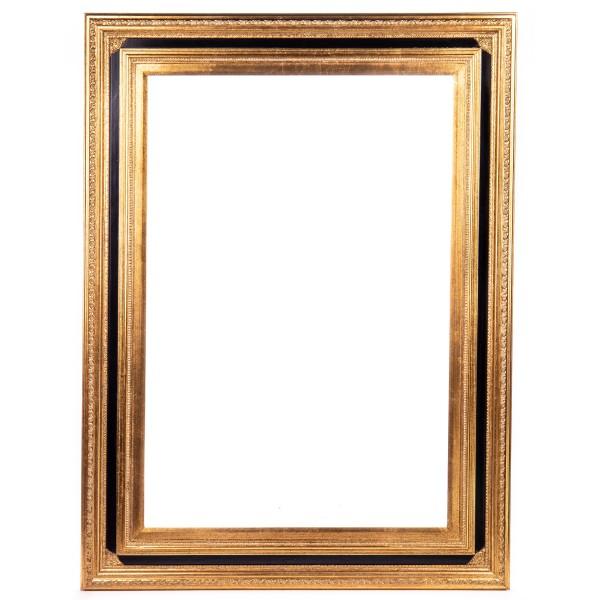 Holzrahmen Barock Schwarz/Gold 60 x 90 cm FR0134