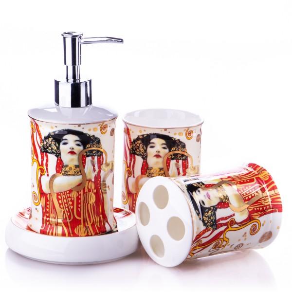 4-Teiliges Badezimmer Set Klimt P218