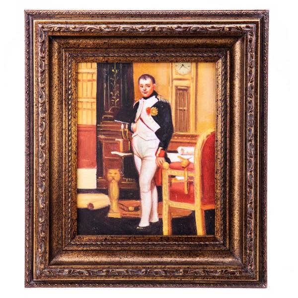 """Ölgemälde mit Rahmen """"Napoleon"""" UN1018"""