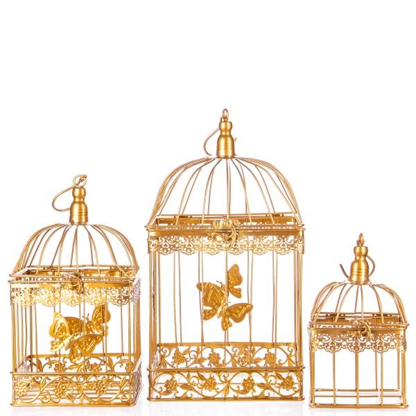 Vogelkäfige Gold Set/3 KF115GO