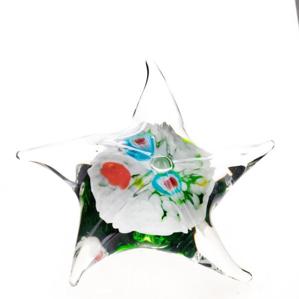 Murano-Stil Glas Briefbeschwerer Seestern GL861